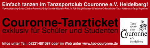 Couronne Tanzticket Herbst 2012