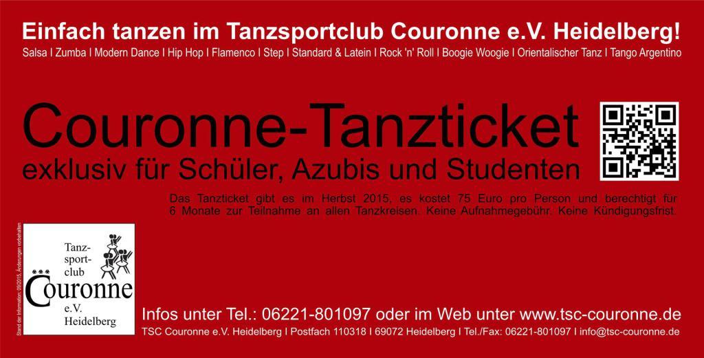 Tanzticket 2015